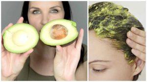 tratamiento de aguacate para el cabello seco