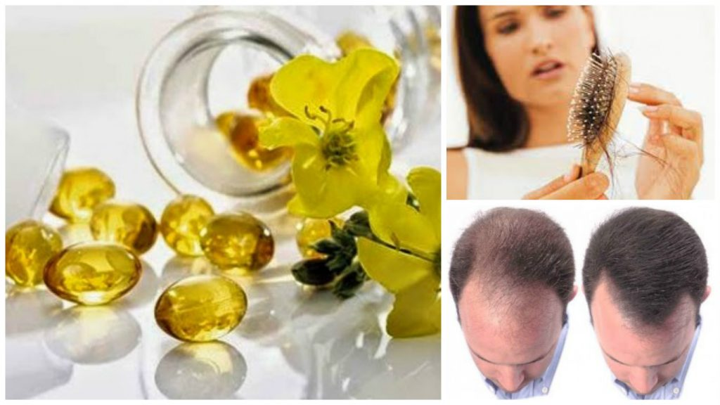 Tratamiento de aceite de Onagra para el cabello