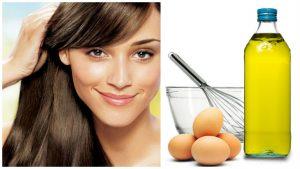 Acondicionador de ron y huevo para el cabello
