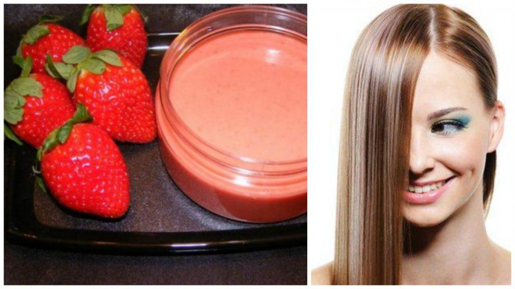 Fresas para el cabello