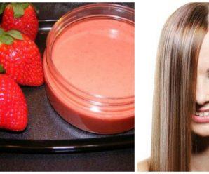 Tratamiento de Fresas para el cabello