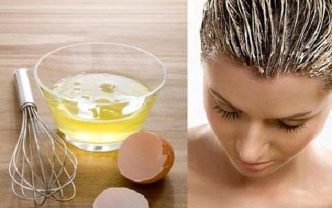 Tratamiento con clara de huevo para el cabello