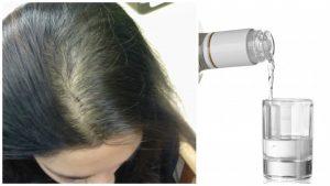 Tratamiento de Vodka para el cabello