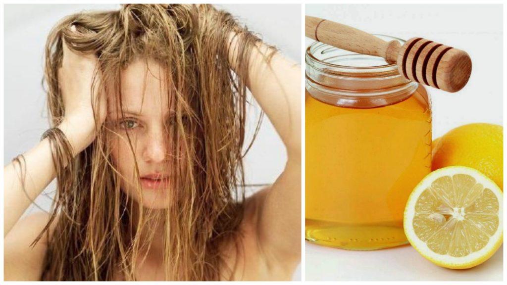 Tratamiento de limon y miel para el cabello
