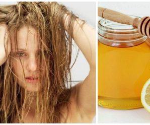 Tratamiento de Limón y Miel para el cabello