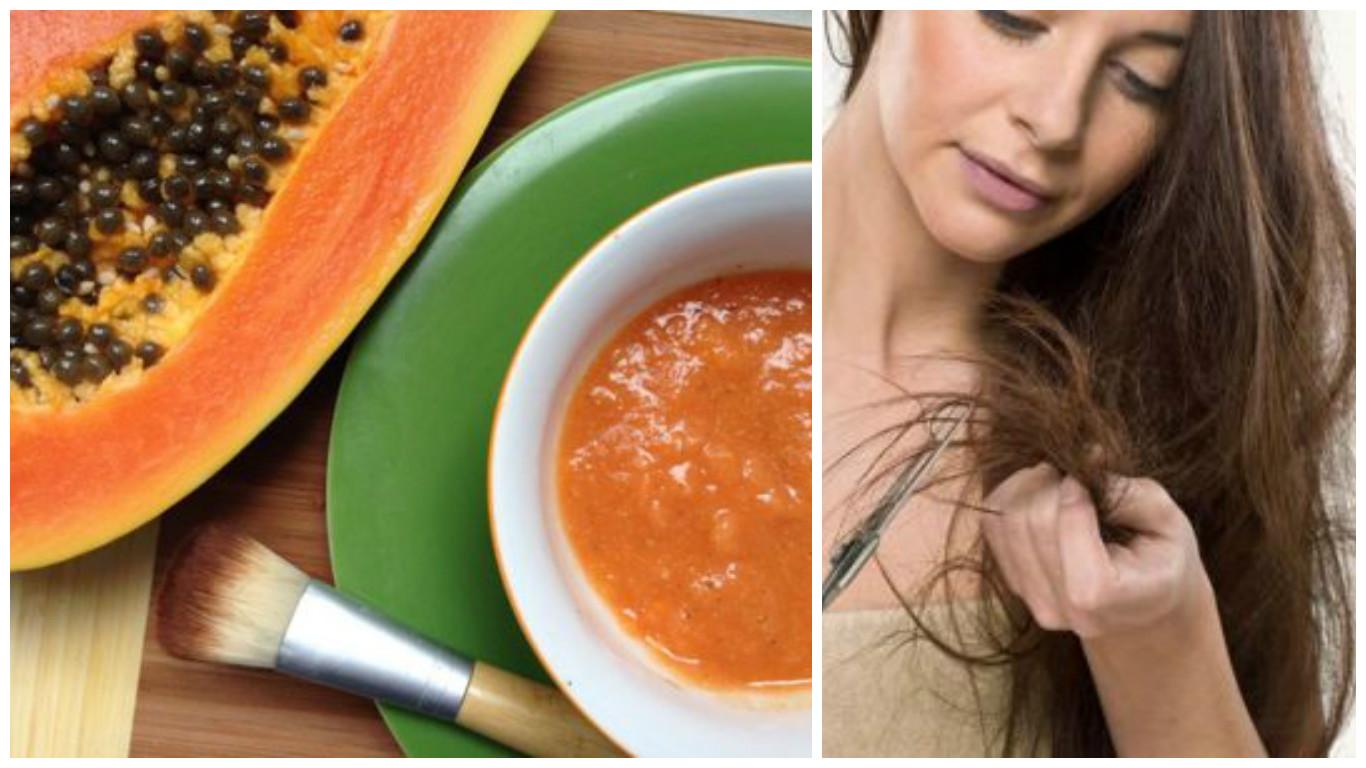 Tratamiento de Papaya para el cabello