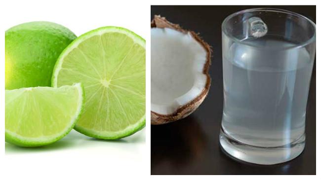 como aplicar el agua de coco en el cabello