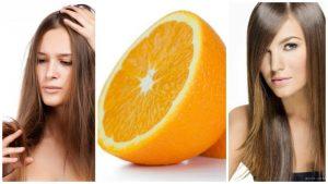 Tratamiento de naranja para el cabello