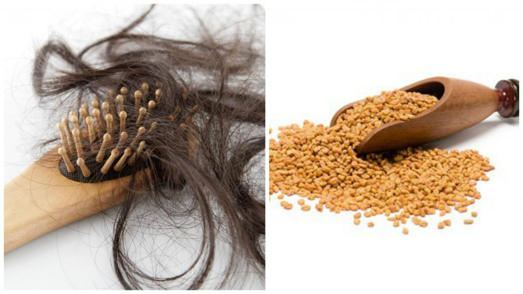 Tratamiento de semillas de alholva para el cabello