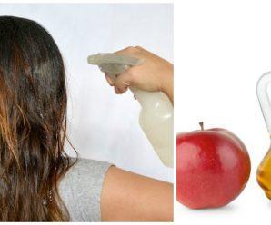 Tratamiento de Vinagre de Manzana para el cabello