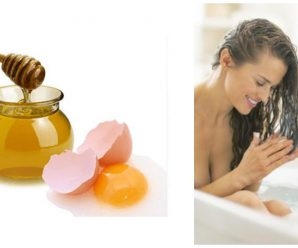 Tratamiento de huevo y miel para el cabello