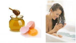 Tratamientos de huevo y miel para el cabello