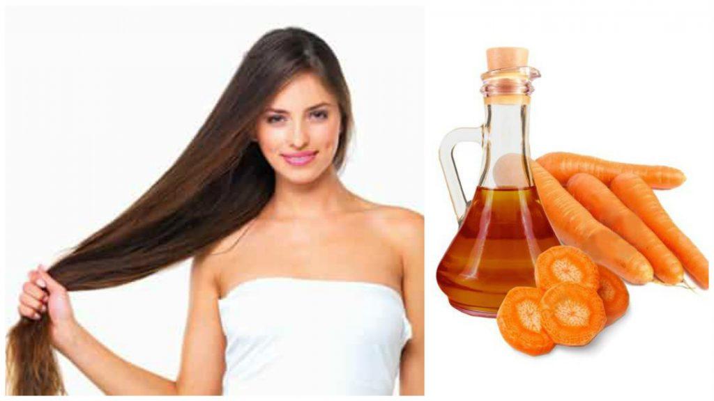 Zanahoria en el cabello