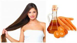 Zanahoria para el crecimiento del cabello