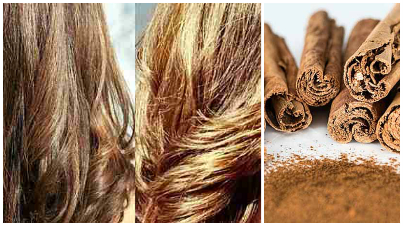 Aclarar el cabello con canela
