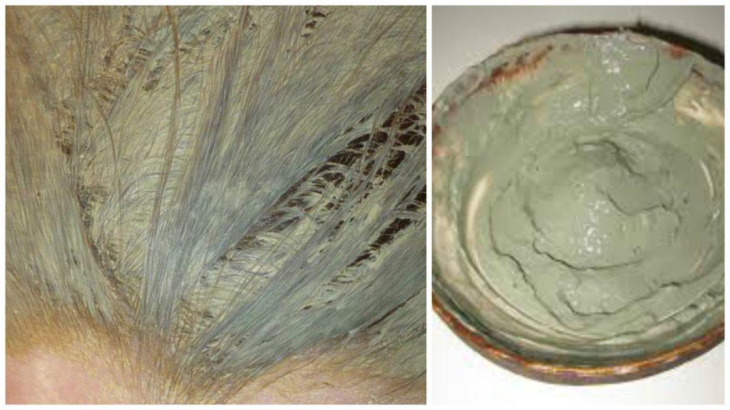 Arcilla verde para cabello graso