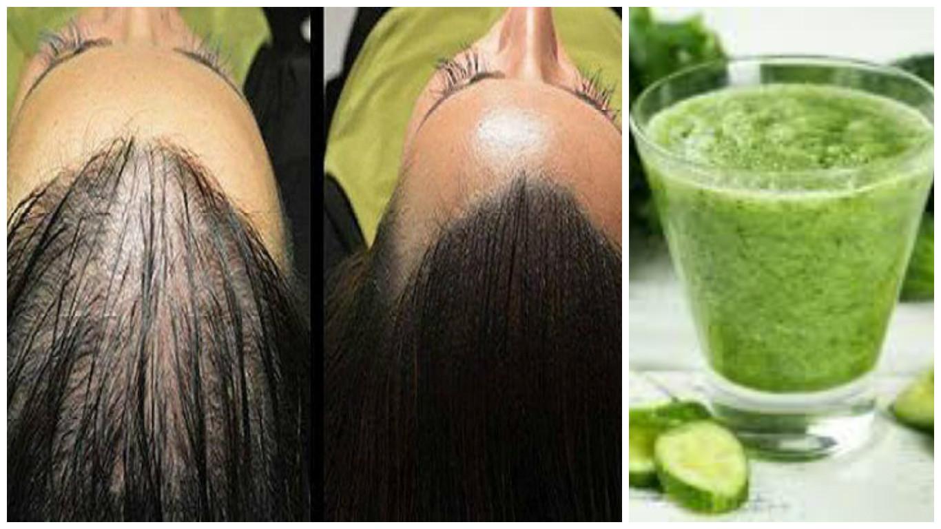 Pepino para el crecimiento del cabello