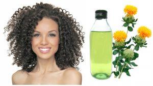 Aceite de CARTAMO para el cabello dañado