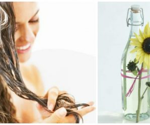 Cuidar el cabello con aceite de girasol