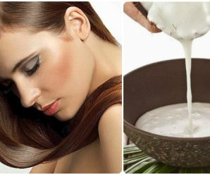 Alisar el cabello con leche de coco y limón