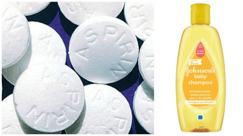 Aspirina y Champú