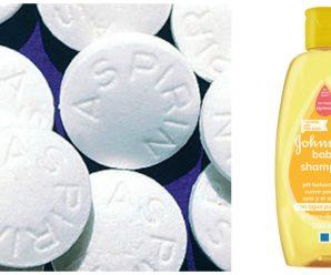 Aspirina para eliminar la caspa