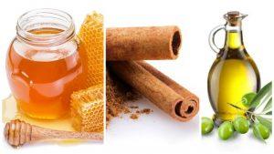 Miel, Canela y Aceite de Oliva