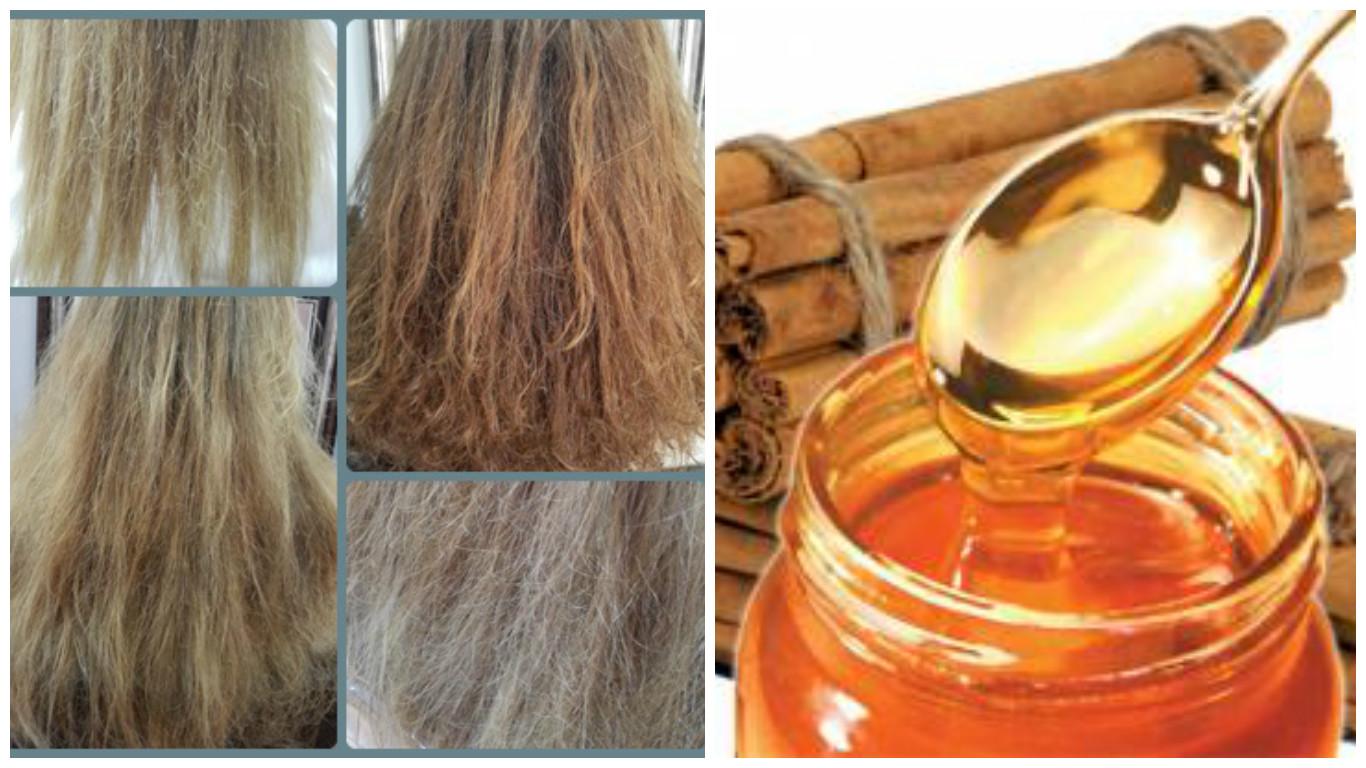 Miel y Canela para el cabello maltratado