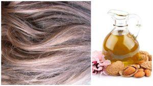 Aceite de almendras para cabello áspero