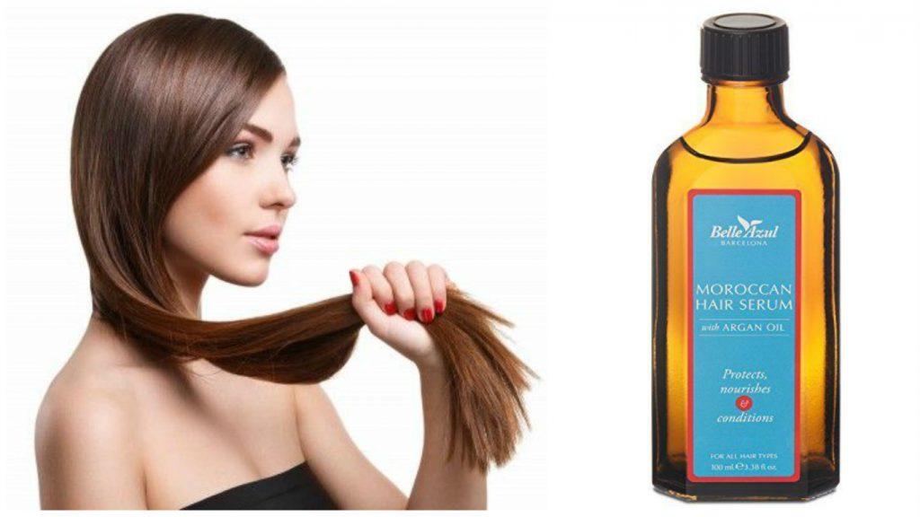 Aceite de argán para pelo fino