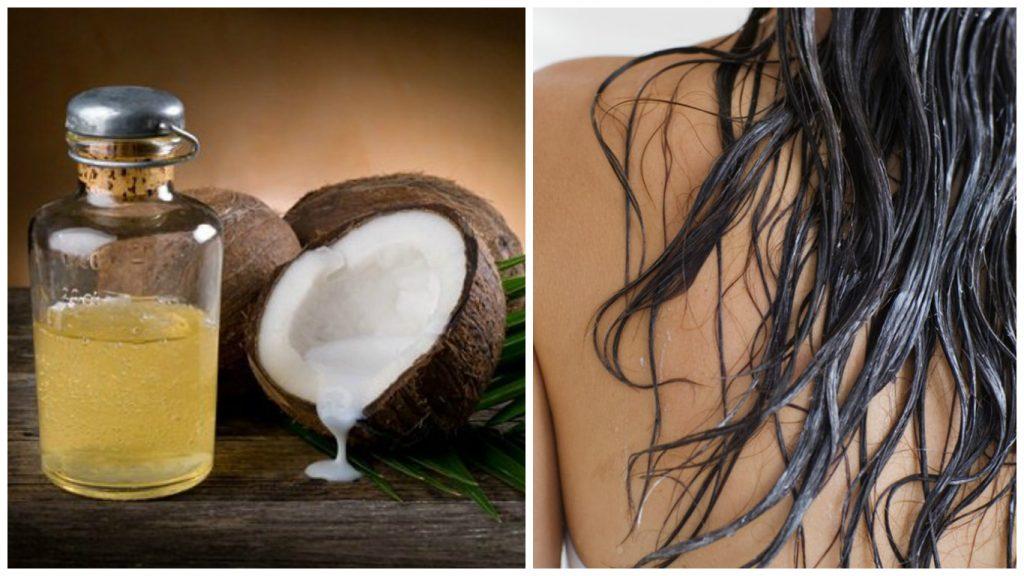 Aceite de coco para tener pelo brillante
