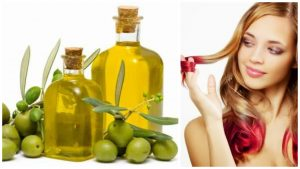 Aceite de oliva para cabello aspero