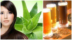 Aloe vera y Cerveza