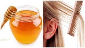 Miel para el pelo débil