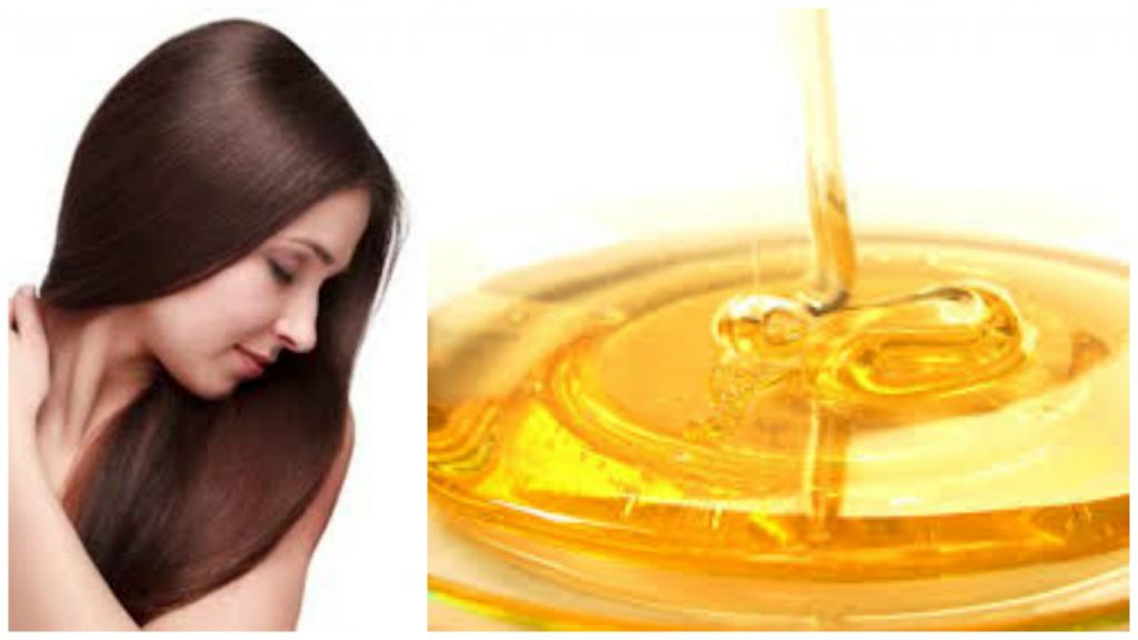 Miel para pelo brillante