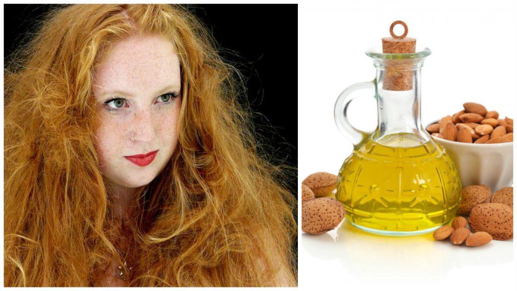 Tratamiento de aceite de almendras