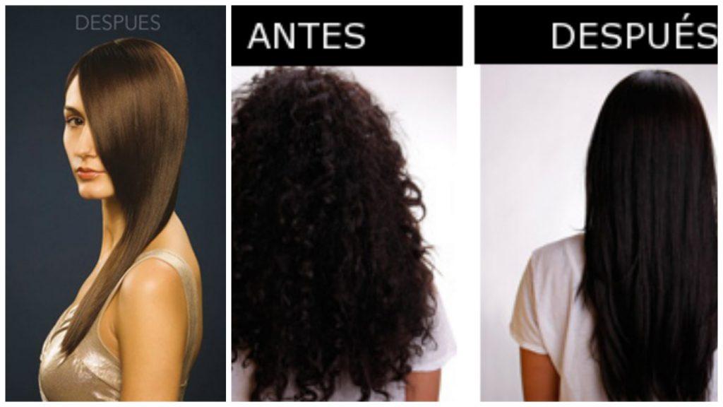 Tratamiento para cabello alaciado