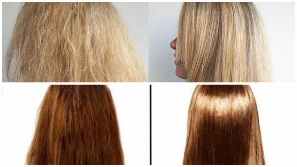 Tratamiento para cabello alisado permanente