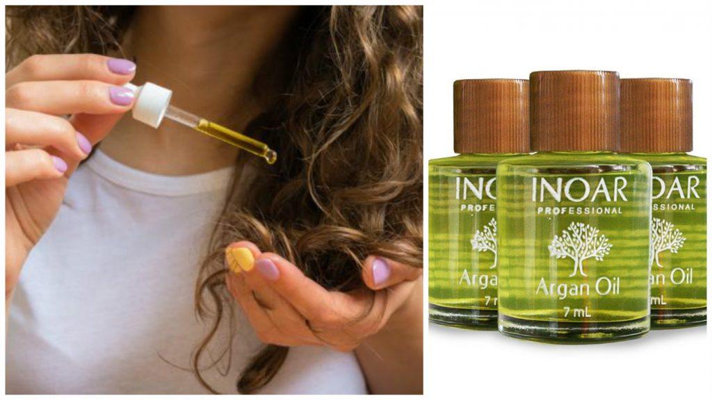 aceite de argán para el pelo - 6 formas naturales de aplicar