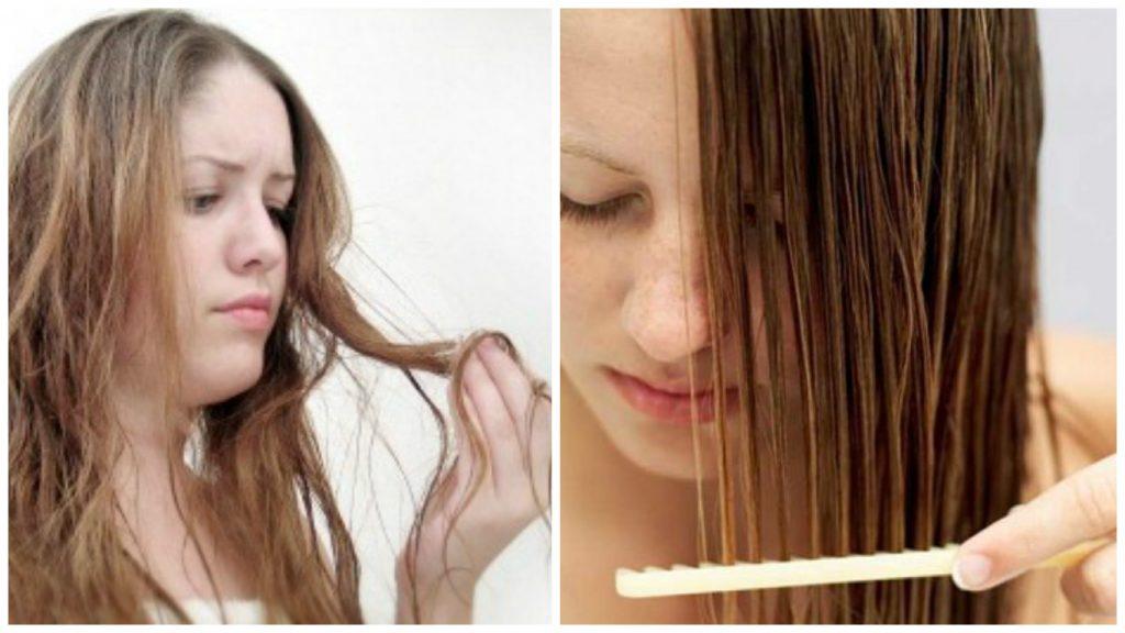 Tratamiento para cabello débil
