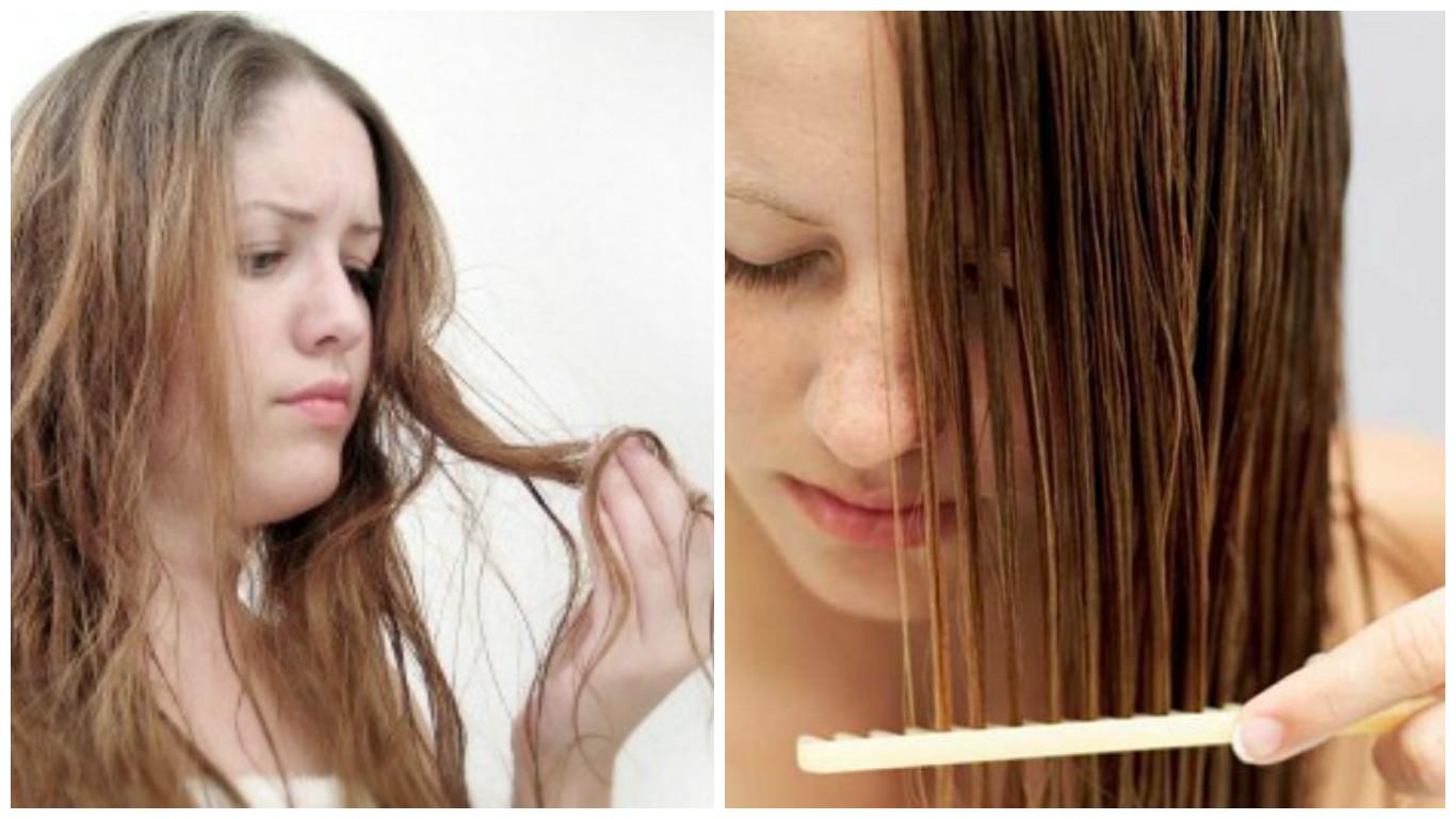 Recetas caseras para el pelo débil