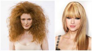 Tratamiento para cabello encrespado