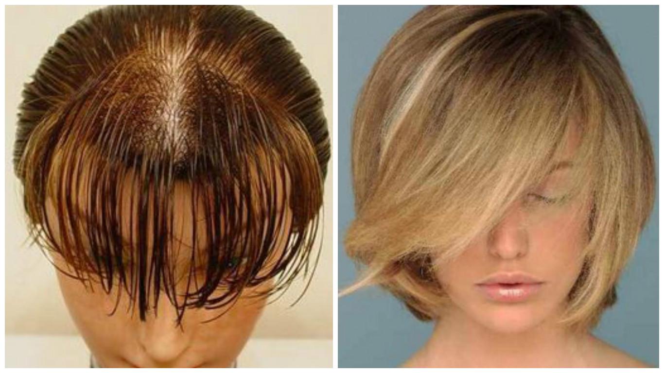 ¿Cómo dar volumen al cabello fino y escaso?