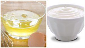 Yogurt y Clara de Huevo para pelo afro