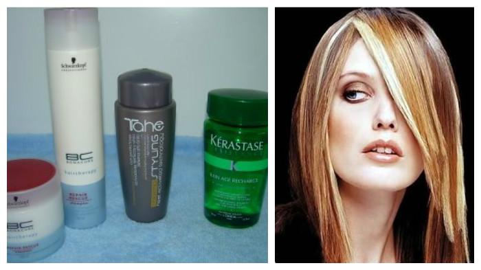 shampoo para mechas
