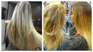 Mascarillas para cabello decolorado