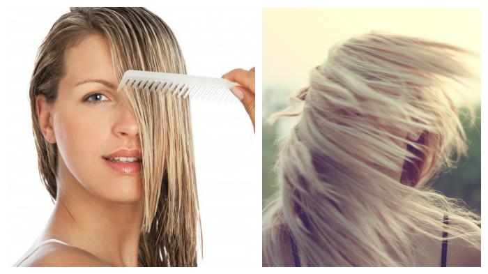 Como hidratar el cabello decolorado naturalmente