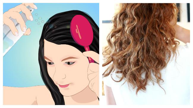 como desenredar el pelo rizado
