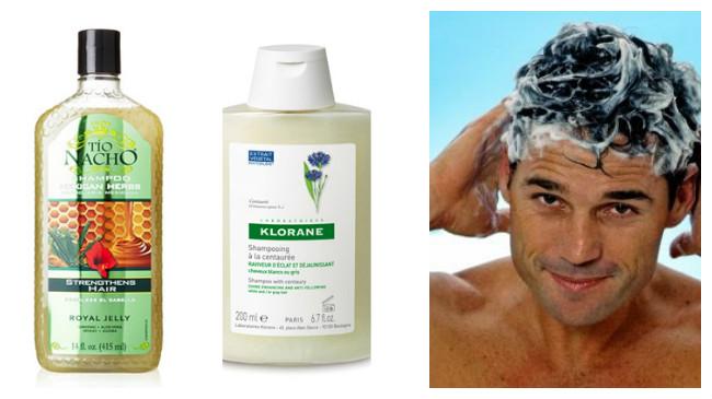 shampoo para caida de cabello en hombres
