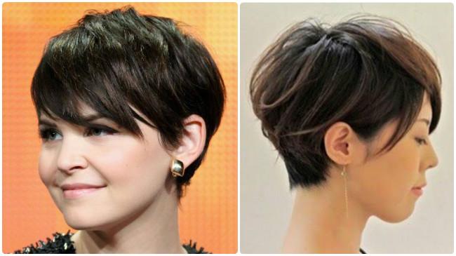Corte de pelo corto estilo pixie